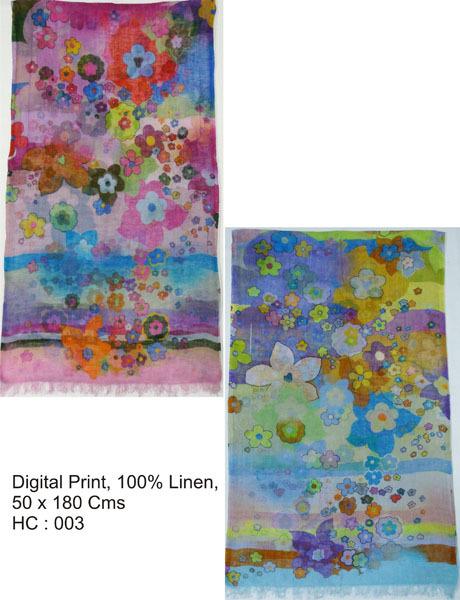 Linen Printed Stoles