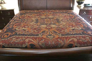 Wool Bed Cover