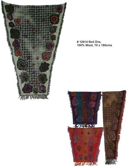 Wool Designer Stoles