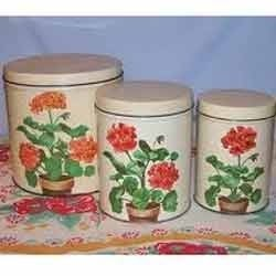 Metal Round Canisters