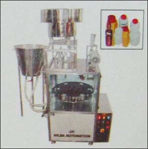 Rotary 2 Head Milk / Juice Filling And Capping Machine