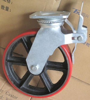 12 Inches Scaffolding Caster Wheel