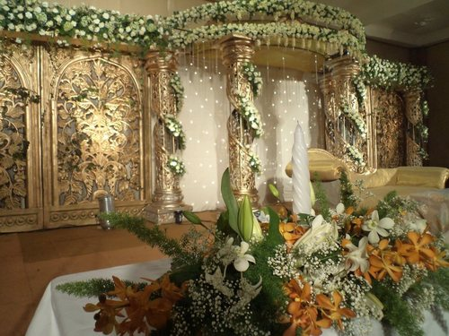 Party Flower Stage Decoration Service