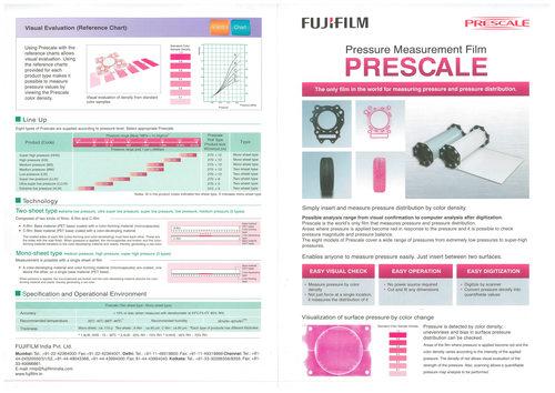 Prescale Film - FUJIFILM INDIA PVT  LTD , Unit No  504-505