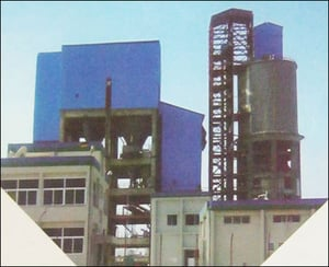 Cement Blending And Packaging Plant