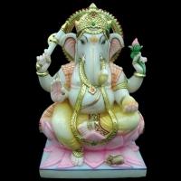 God Ganesh Marble Statue