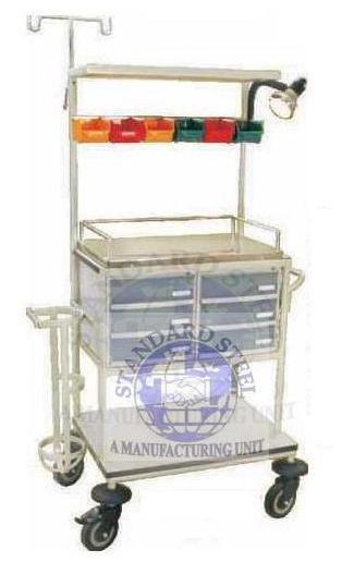 Durable Crash Cart Trolley
