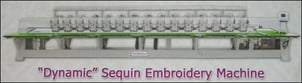 Dynamic Sequin Embroidery Machine