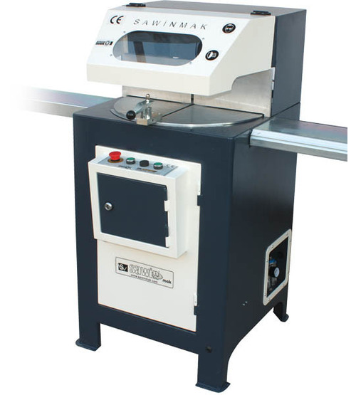 Single Head Pvc Window Profile Cutting Machine
