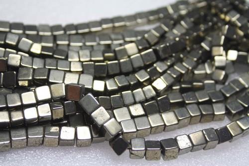 Pyrite Gemstone Beads