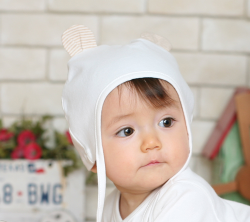 03fd969d3 Organic Cotton Baby Teddy Pilot Hat in Anyang, Gyeonggi-do ...