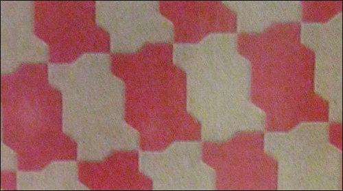 Zig Zag Shape Paver Tiles