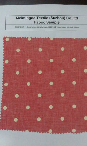 Polyester Cationic / Linen Style Fabric