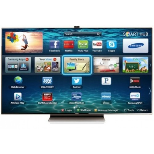 """75"""" Series 9 LED 1080P 3D HDTV with Smart Interaction"""