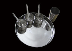 Stainless Steel Thali Set in   Manakpur Industrial Area