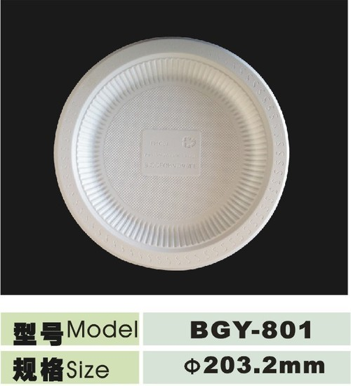 Disposable Biodegradable Plate 8 Inch