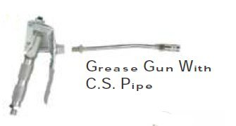 Grease Gun With C.S. Pipe