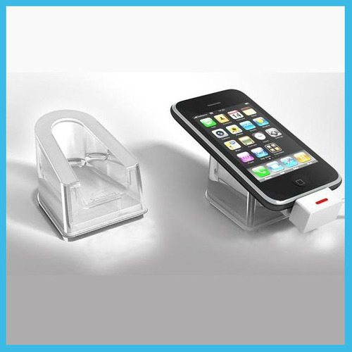 Cell Phone Stand with Anti-Theft Devices Security Alarm System