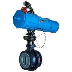 Ptfe Lined Actuated Ball Valve