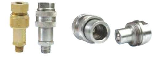 Screw Type Hydraulic Q.R.C Coupler (Ball Type)