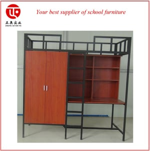 Latest Single Dormitory Bed