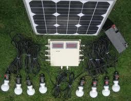 Solar LED Home Lighting