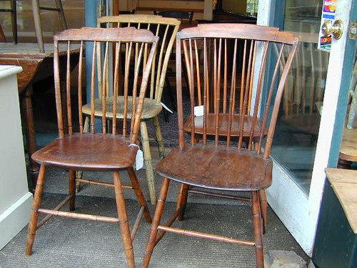 Antique Step Down Chair