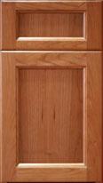 Flat Panel Wood Door (Cherry)