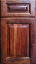 Raised Panel Wood Door (Black Walnut)