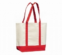 Canvas Die Cut Shopping Bag