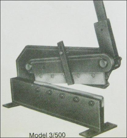 Geared Shearing Machine (3/500)