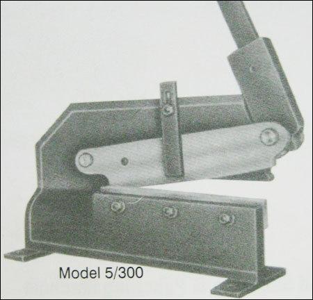 Geared Shearing Machine (5/300)