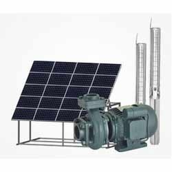 Solar Submersible Pump With Solar System