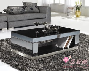 Tempered Glass Coffee Table (Y-893)