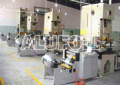 High Speed Lid Punching Machine