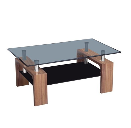 Glass Center Table CT270 2 In Shengfang Town