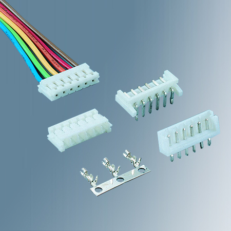"""R2520_PH 2.50mm (.098"""") Wire To Board Connectors"""