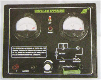 Ohm'S Law Apparatus With Regulated Power Supply