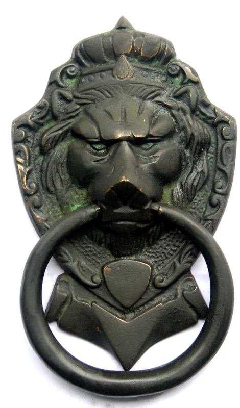 Door Knockers Lion Head Sculpture
