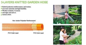 3 Layers Knitted Garden Hose Water Hoses