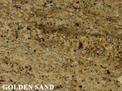 Golden Sand Granite Countertop