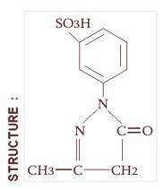 1(3-Sulfo)Phenyl 3-Methyl-5pyrazolone. (13spmp)