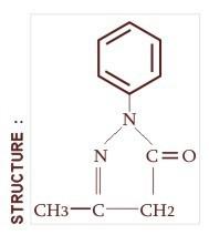 1- Phenyl 3-Methyl 5-Pyrazolone