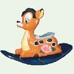 FRP Rocker Deer