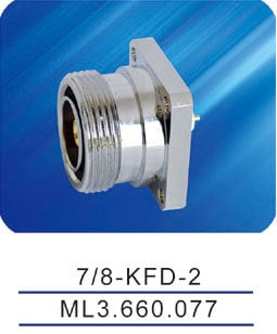 Female Connector With Flange 7/16-KFD