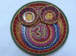 Designer Kumkum Plate