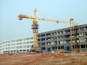 Mobile Tracking Tower Crane
