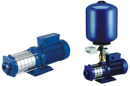 Multistage Horizontal Booster Pumps Mhs And Mhl Series