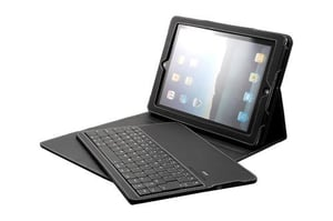 Leather Case with Bluetooth Keyboard For iPad