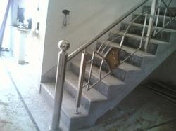 Fancy Stainless Steel Railing